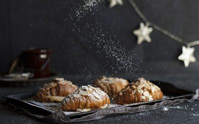Cheat's Christmas Almond Croissants