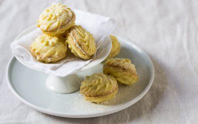 Lemon White Chocolate Melting Moments