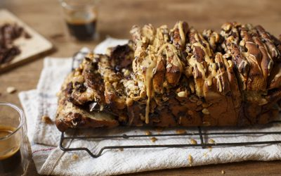 Pull-Apart Loaf: Two Ways (Cheesy and Chocolatey)