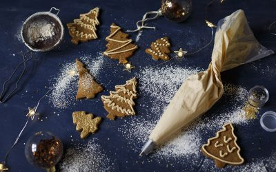 Spiced Gingerbread Cookies
