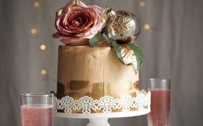Rosé Champagne Chiffon Cake & a Giveaway!
