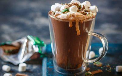 Peppermint Crisp Hot Chocolate
